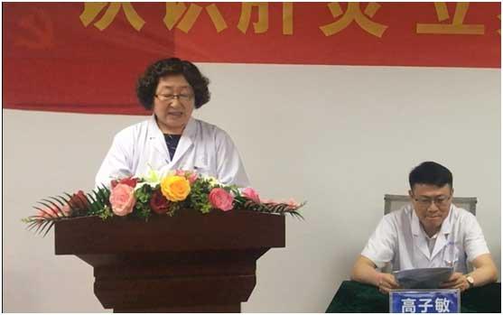 世界肝炎日河南省医药院附属医院公益事纪:爱肝势必进行到底